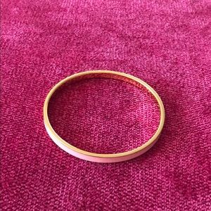 Kate spade light pink bangle